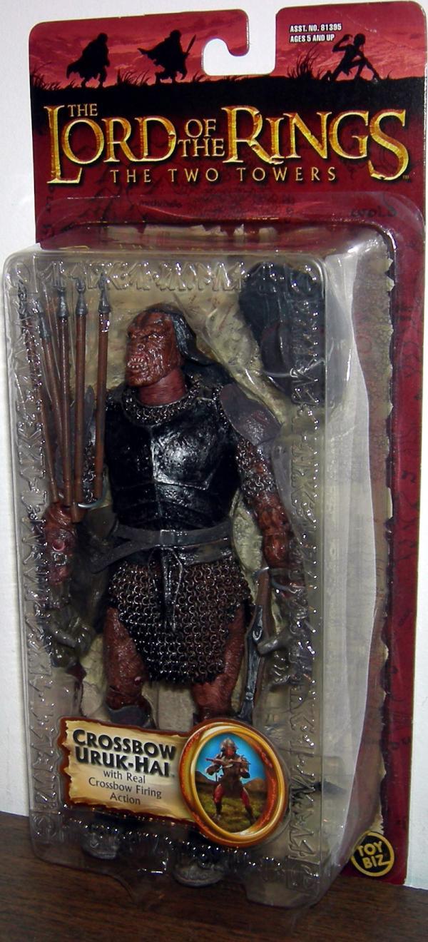 Crossbow Uruk-hai Figure Lord Rings Trilogy Toy Biz