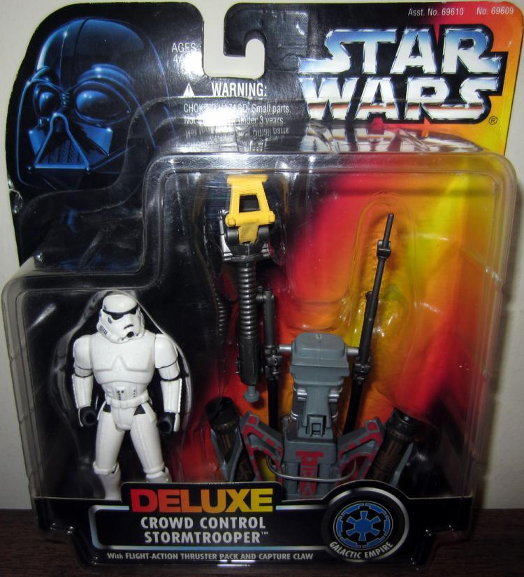 Crowd Control Stormtrooper Figure Star Wars Kenner