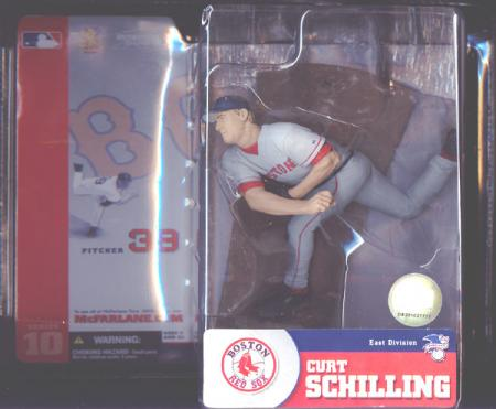 Curt Schilling series 10, gray uniform
