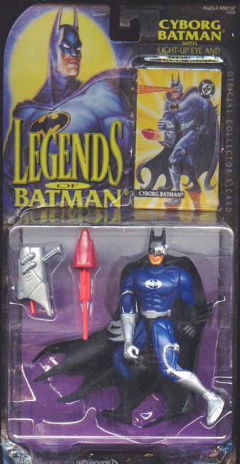 Cyborg Batman Legends