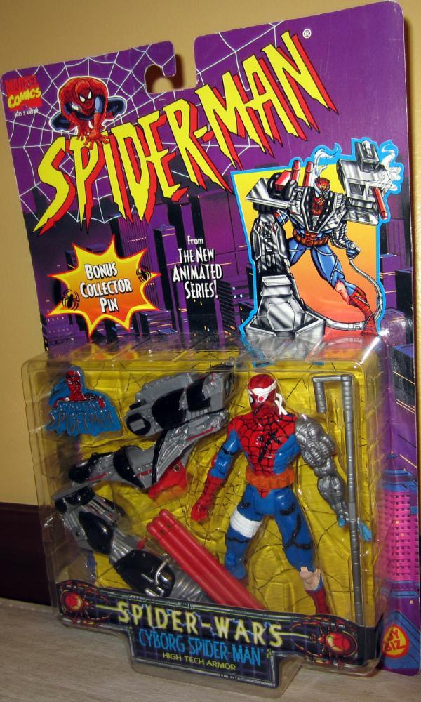 Cyborg Spider-Man Action Figure Spider-Wars Animated Series