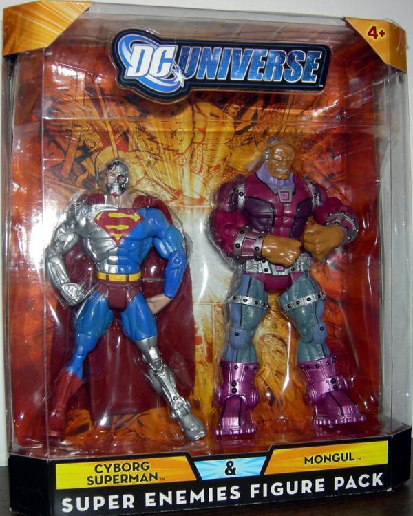 Cyborg Superman Mongul DC Universe