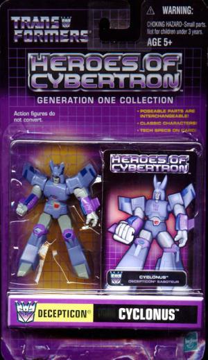 Cyclonus Heroes Cybertron