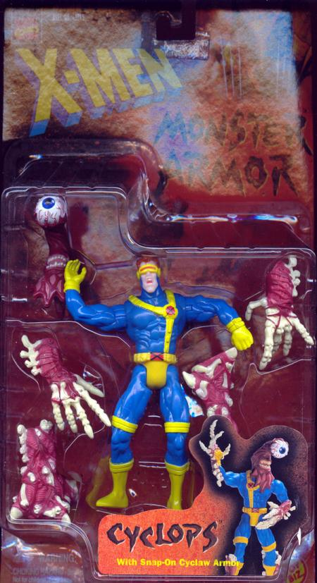 Cyclops Monster Armor Action Figure X-Men Toy Biz
