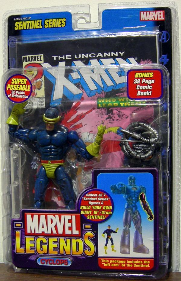 Cyclops Figure Marvel Legends Sentinel Series