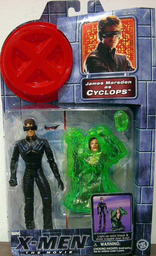 Cyclops X-Men Movie Action Figure James Marsden Toy Biz