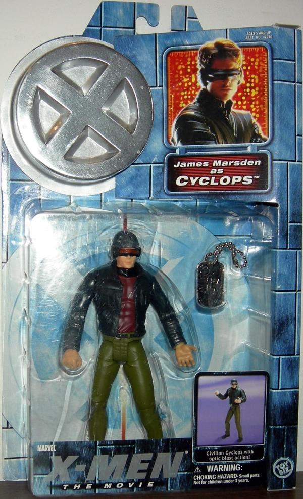 Cyclops X-Men movie series 2 action figure