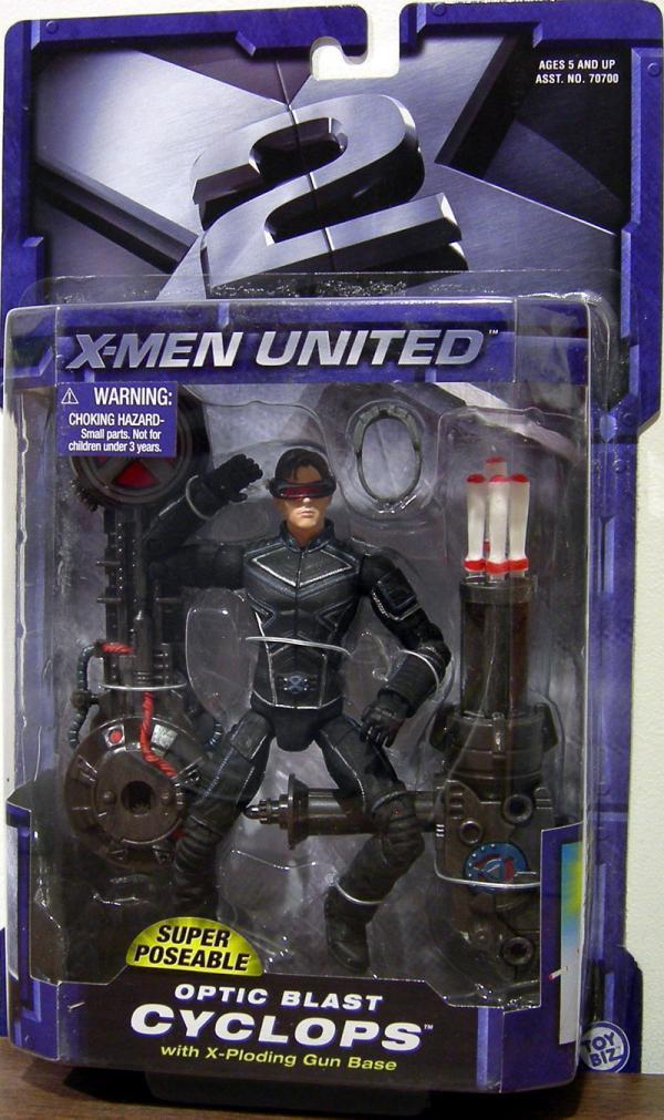 Optic Blast Cyclops Figure X-Men United Movie