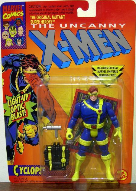 Cyclops Light-Up Optic Blast X-Men action figure