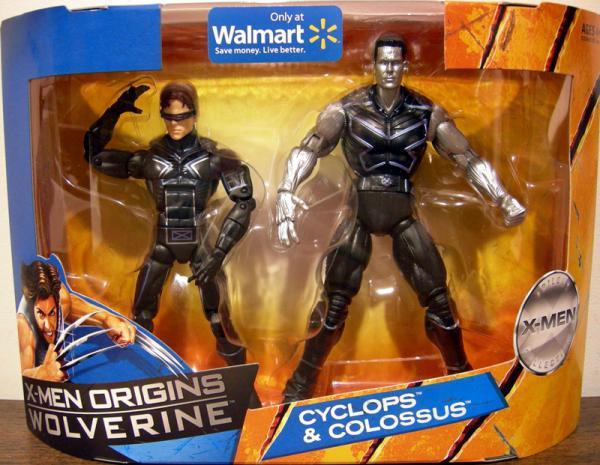 Cyclops Colossus Figures X-Men Origins Wolverine Movie