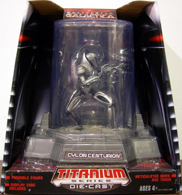Cylon Centurion Titanium Series Die-Cast