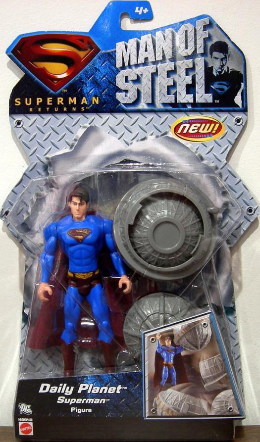 Daily Planet Superman Man Steel