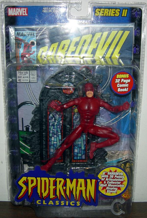 Daredevil Spider-Man Classics action figure