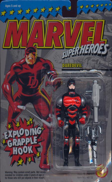 Daredevil Figure Marvel Super Heroes Series 2