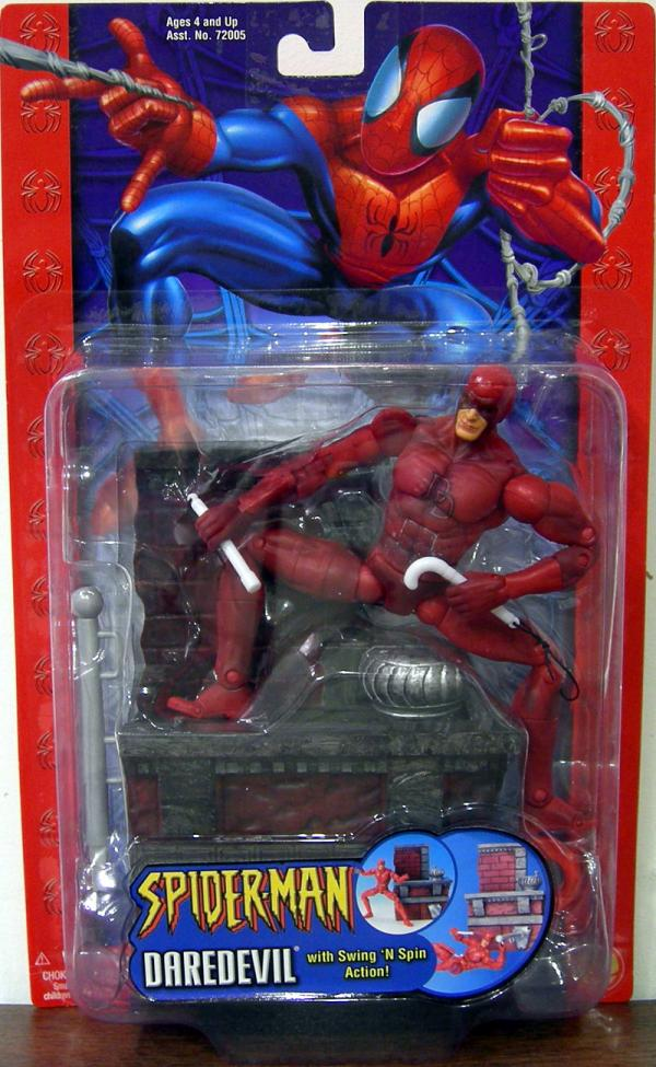 Daredevil swing n spin action Spider-Man Classic action figure