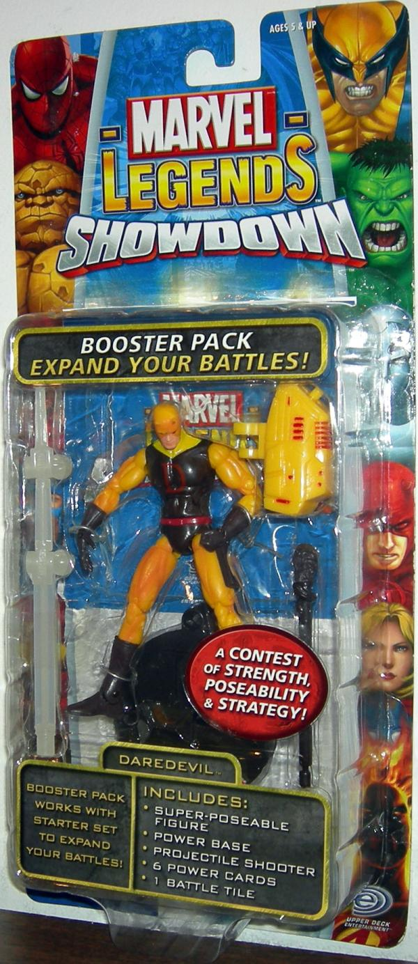 Daredevil Marvel Legends Showdown Yellow Variant action figure