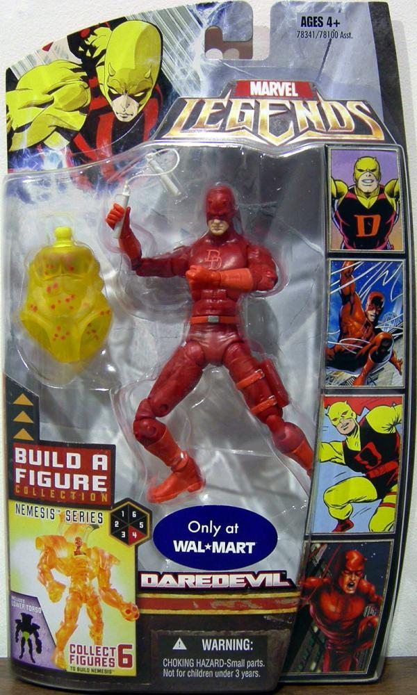 Daredevil Figure Marvel Legends Nemesis Series Red Variant