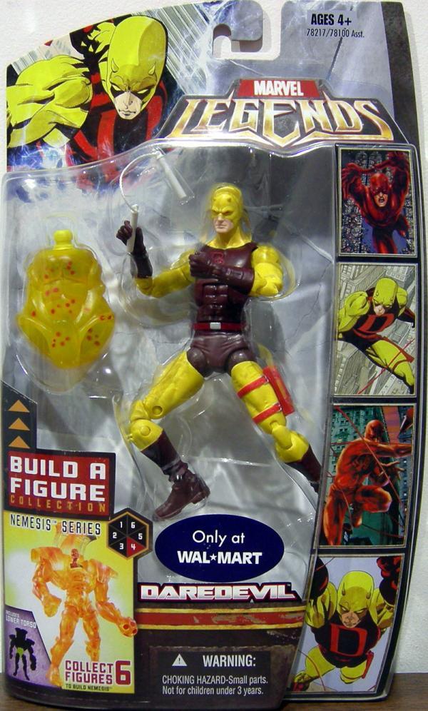 Daredevil Marvel Legends Figure Nemesis Series Hasbro