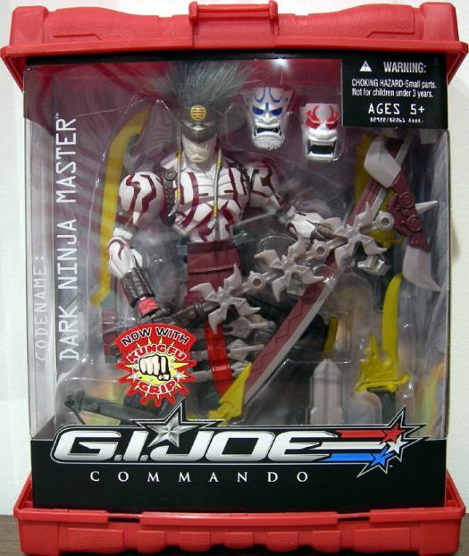 Dark Ninja Master Figure GI Joe Commando Hasbro