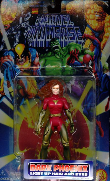 Dark Phoenix Figure Marvel Universe Toy Biz