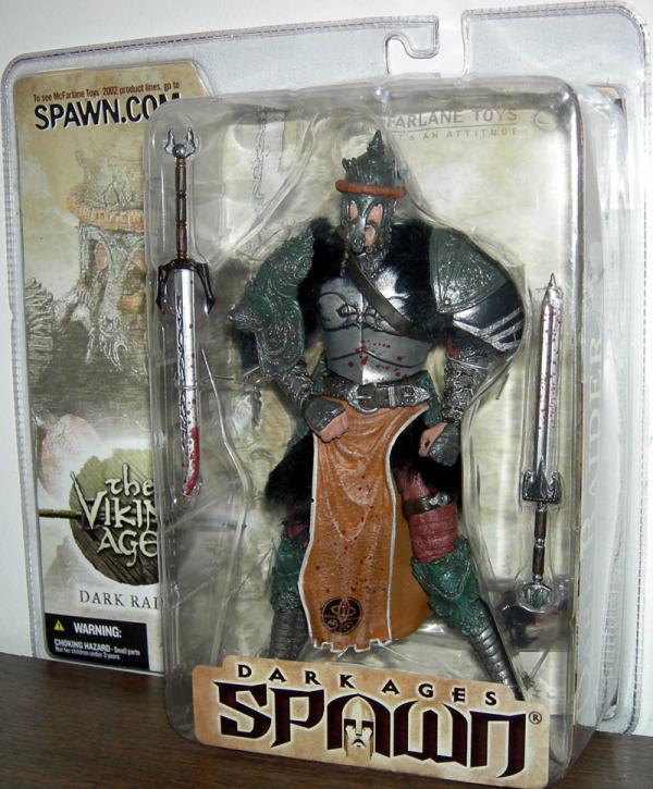 Dark Raider Figure Repaint Spawn Series 22 Viking Age