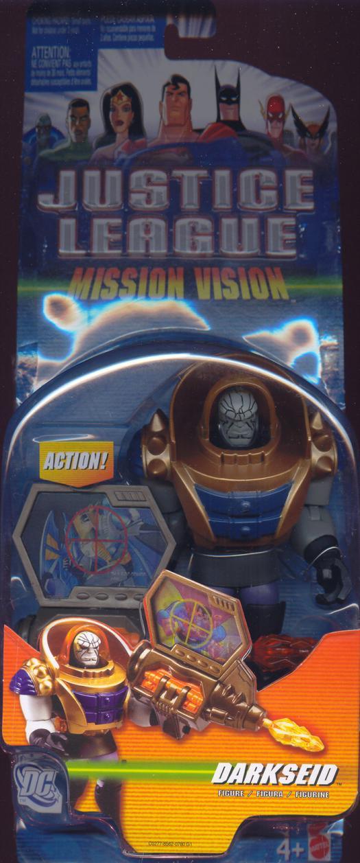 Darkseid Mission Vision