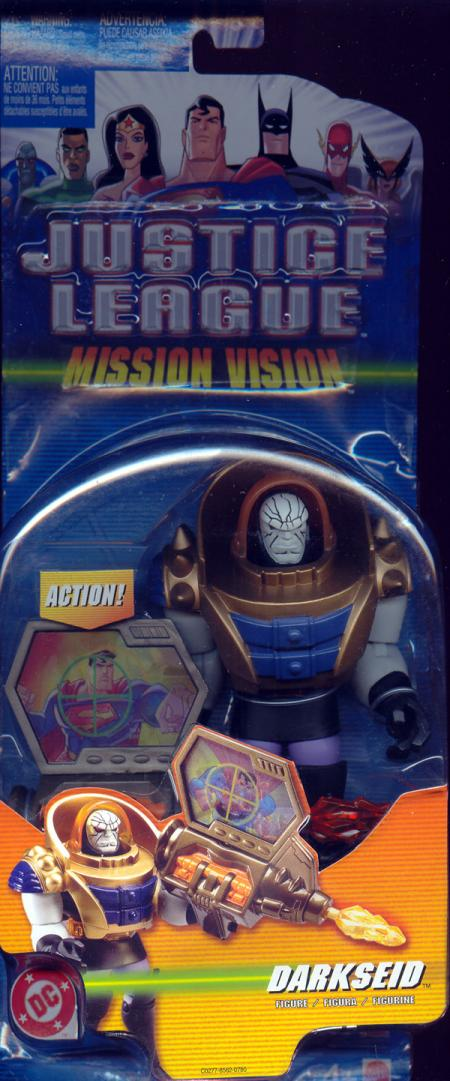 Darkseid Mission Vision, white face
