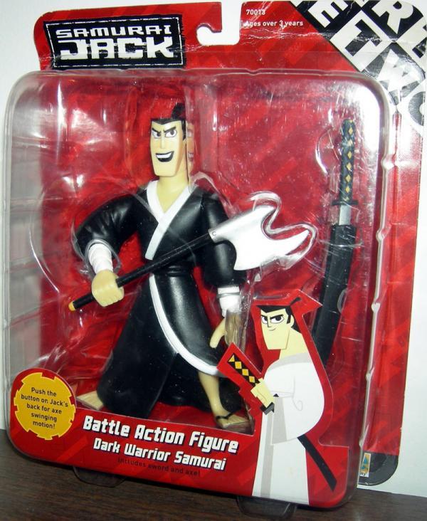Dark Warrior Samurai Jack Figure Battle Equity
