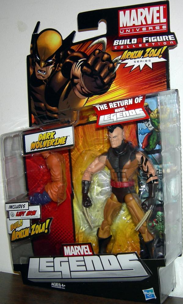 Dark Wolverine Mohawk Marvel Legends, Arnim Zola Series