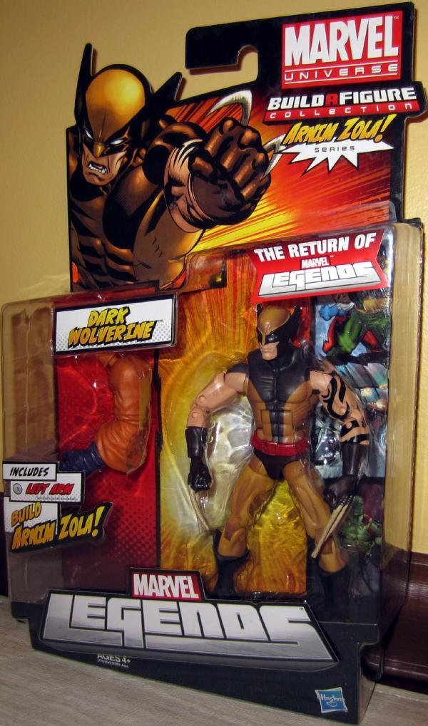 Dark Wolverine Marvel Legends, Arnim Zola Series