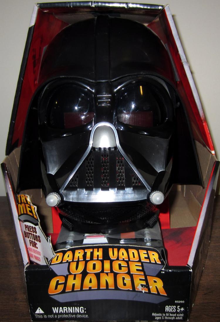 Darth Vader Voice Changer Helmet Star Wars Hasbro