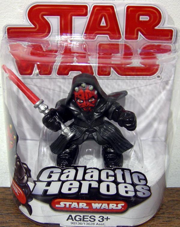 Darth Maul Figure Galactic Heroes Star Wars Hasbro