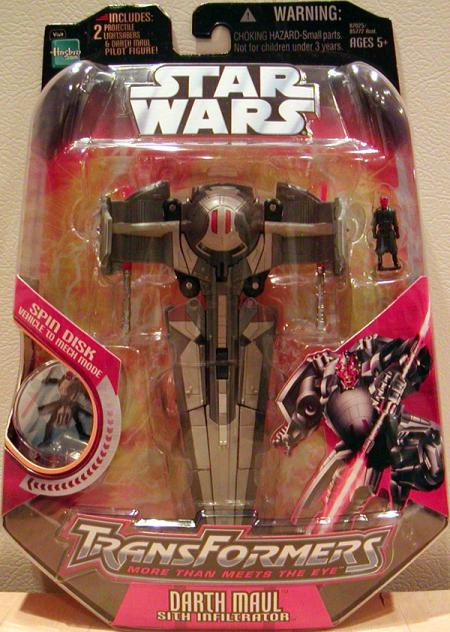 Darth Maul Sith Infiltrator Transformers