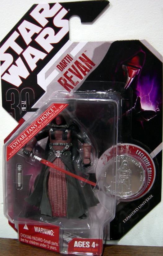 Darth Revan Action Figure 30th Anniversary No 34 Star Wars