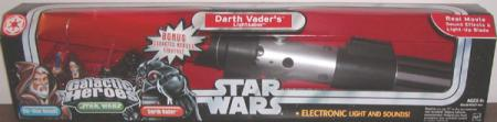 Darth Vaders Lightsaber Galactic Heroes