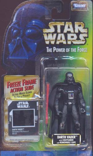 Darth Vader freeze frame