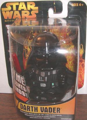 Darth Vader Figure Super Deformed Revenge Sith Star Wars
