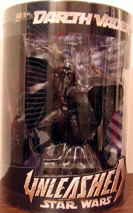 Darth Vader Unleashed Figure Boxed Best Buy Hasbro