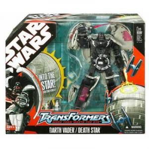 Darth Vader Death Star Transformers Hasbro