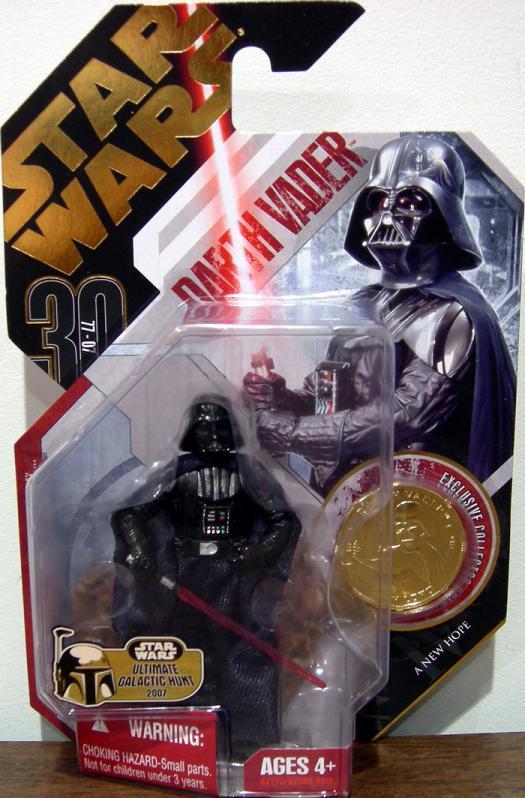 Darth Vader Figure 30th Anniversary No 16 Ultimate Galactic Hunt