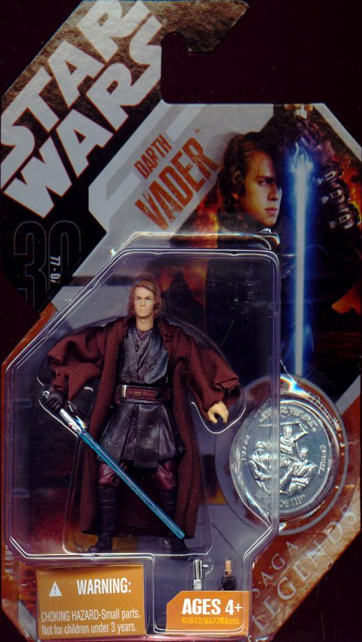 Darth Vader Anakin Skywalker Figure Saga Legends Star Wars