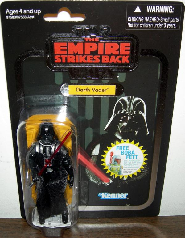 Darth Vader VC08 Foil Card Chase Variant Star Wars Empire Strikes Back action figure
