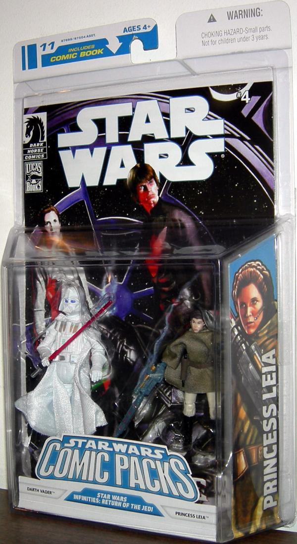 Darth Vader Princess Leia Comic Pack 11 Star Wars action figures