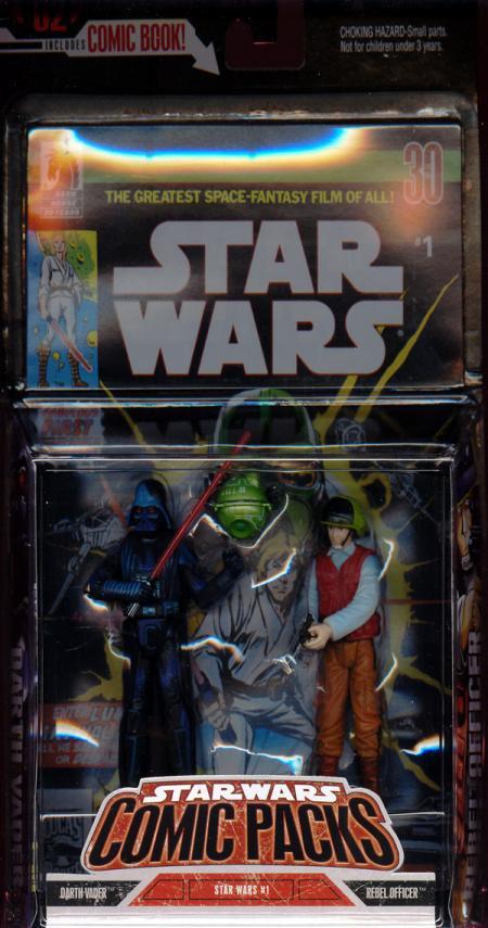 Darth Vader Rebel Officer Comic Packs