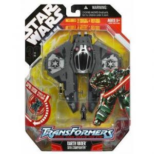 Darth Vader Sith Starfighter Transformers