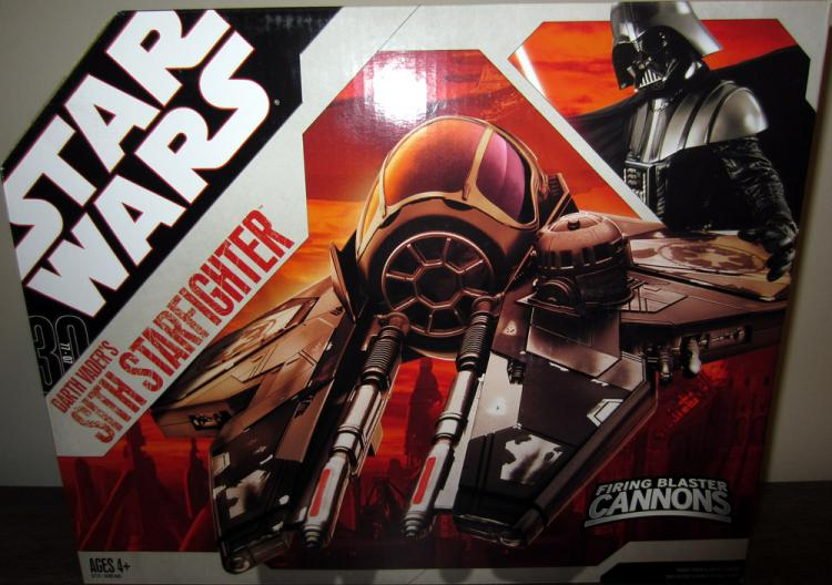 Darth Vaders Sith Starfighter Vehicle 30th Anniversary Star Wars
