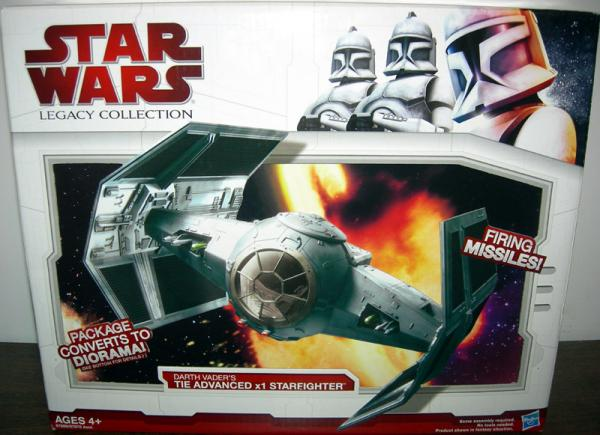Darth Vaders TIE Advanced x1 Starfighter Legacy Collection