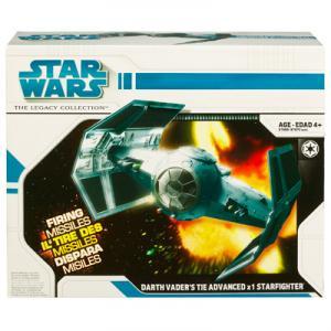 Darth Vaders TIE Advanced x1 Starfighter Star Wars vehicle