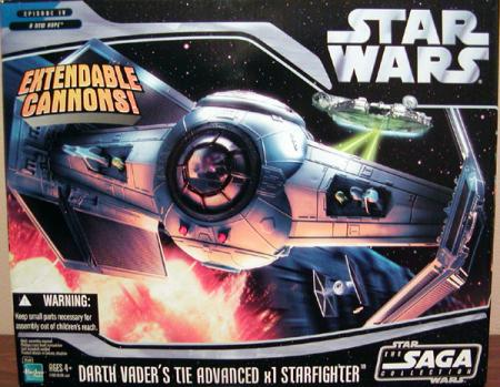 Darth Vaders TIE Advanced x1 Starfighter