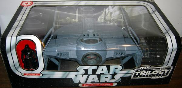 Darth Vaders TIE Fighter Vehicle Figure Original Trilogy Collection Star Wars
